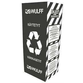Palautuslaatikko käytetyille värikaseteille (max 2 kpl /tilaus)