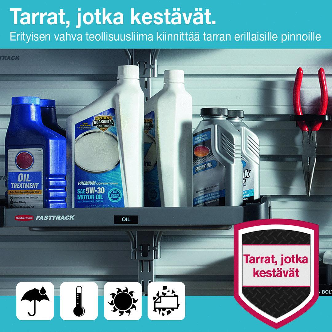 Tarrakasetti Dymo D1 permanent 12mm valk/musta - 100 % kierrätysmuovia, FSC-sertifioitu tarrapaperi