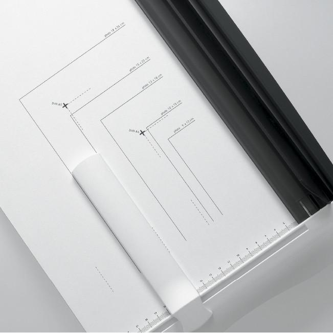 Paperileikkuri Ideal 1133  leikkuuleveys 340mm - kapasiteetti 15 arkkia