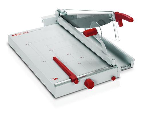 Paperileikkuri Ideal 1058  leikkuuleveys 580mm - kapasiteetti 40 arkkia