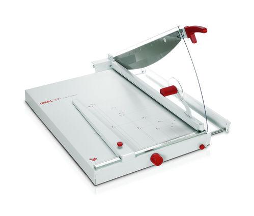 Paperileikkuri Ideal 1071 leikkuuleveys 710mm - kapasiteetti 40 arkkia