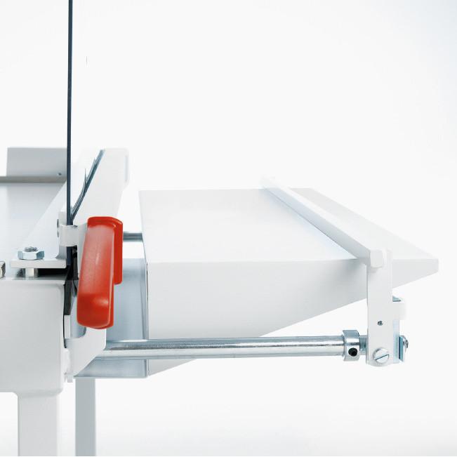 Paperileikkuri Ideal 1080 leikkuuleveys 800mm - kapasiteetti 20 arkkia, leikkaa pahvia ja muovia