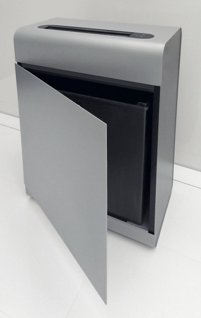 Paperintuhooja Ideal 1 2x15 mm silppu - muotoilupalkittu ja innovatiivinen