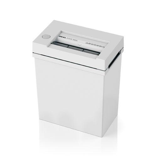 Paperintuhooja Ideal 2245 3X25mm silppu - käsittelee myös paperiliittimet
