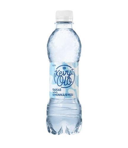 Kivennäisvesi Olvi KevytOlo Raikas 0,5 l /24 plo kenno (pantti ei sis) - ei lisättyä suolaa