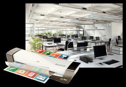 Laminointilaite Leitz iLAM Office A4 - nopeus 400 mm/min