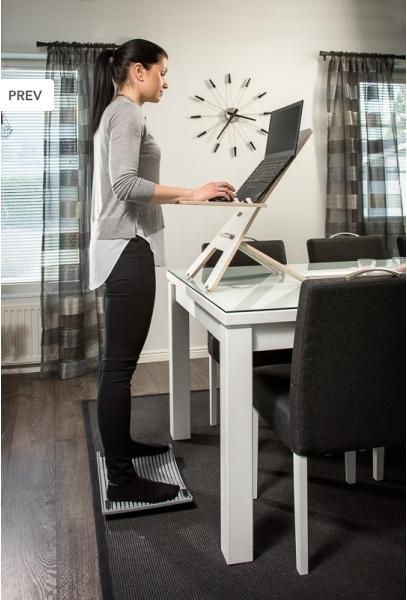 Tietokonepöytä GetUpDesk Light säädettävä - ETÄTYÖLÄISEN SUOSIKKITUOTE