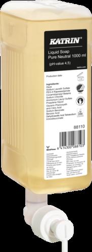 Nestesaippua Katrin Liquid Soap Pure Neutral 1000 ml - hajusteeton ja väriaineeton
