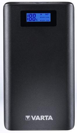 Varavirtalähde Varta LCD Power Bank 13000mAh - suosituin malli viikonloppureissuihin