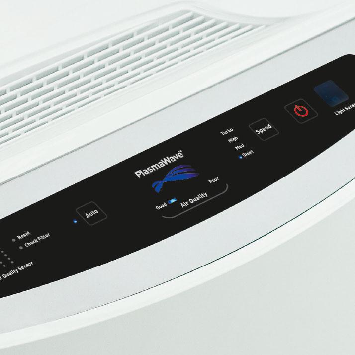 Ilmanpuhdistin Ideal AP30 30 m2 + kaukosäädin - suodattaa lähes 100 % ilman pienhiukkasista