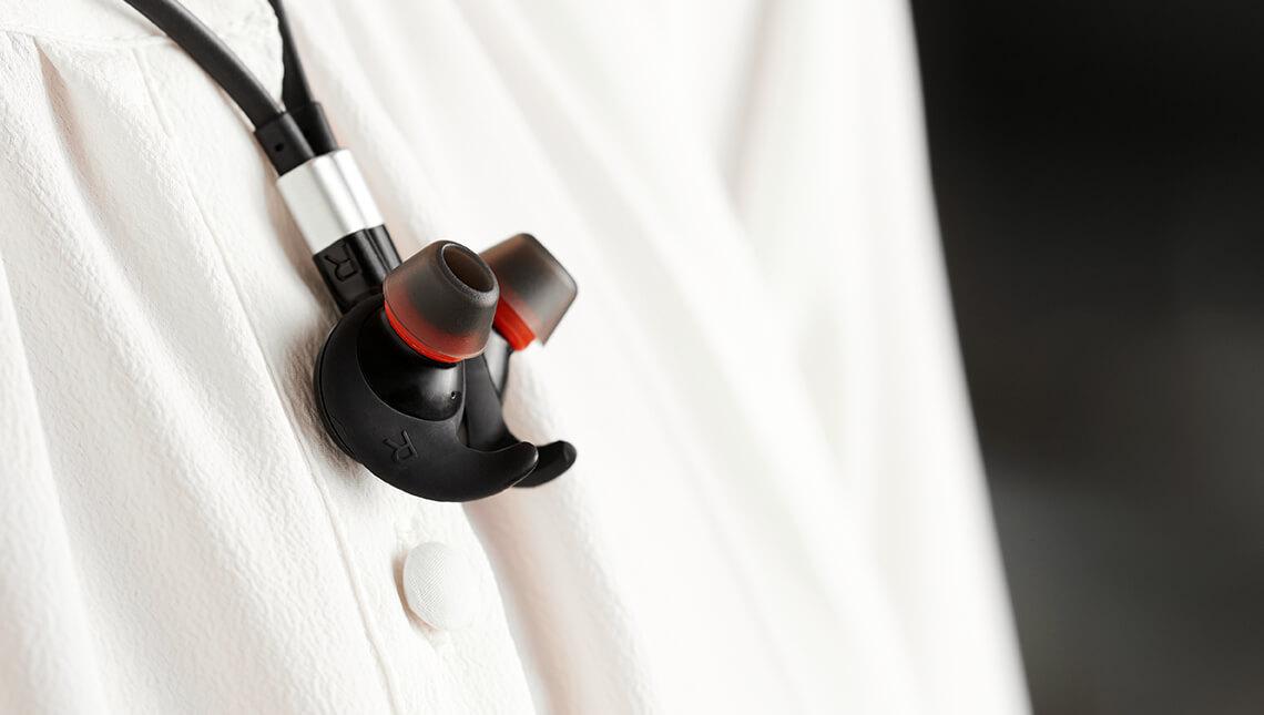 Kuuloke / nappikuuloke Jabra 75E MS langaton stereo - aktiivinen melunpoisto