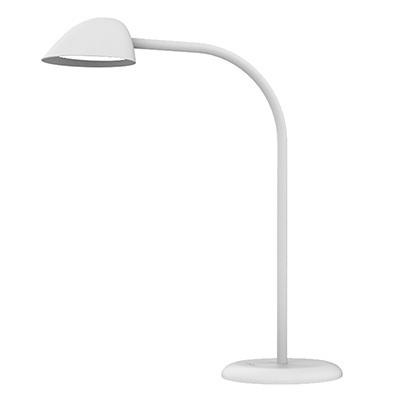 Työpistevalaisin Unilux Easy LED valkoinen - valon kirkkauden säätö ja USB-portti