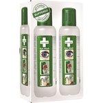 Silmänhuuhtelupullo Cederroth 500ml /2 pulloa - ei vain huuhtele, neutralisoi myös kemikaaliroiskeet