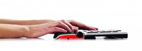 Ergonominen hiiri Contour  RollerMouse Red langaton musta - alumiinikuori ja 7SENSES-ohjaus