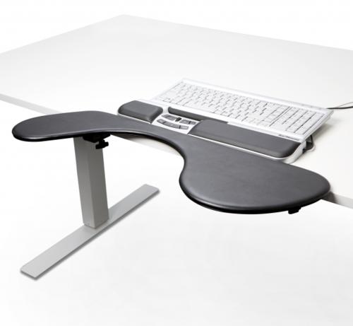 Kyynärvarsituki Optapad PRO Ultra Slim - sopii matalalle näppäimistölle
