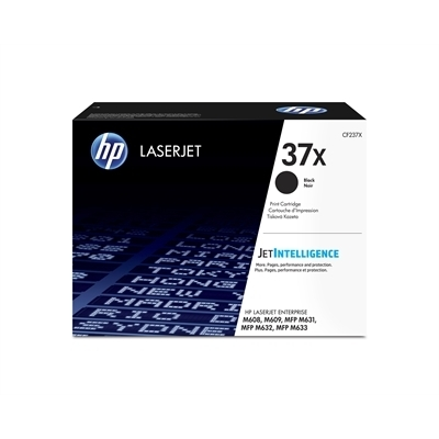 Värikasetti laser HP CF237X LJ Enterprise M608/MFP631 musta