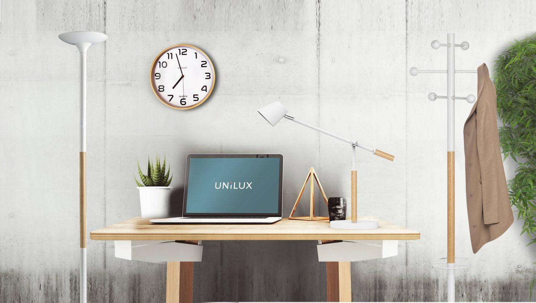 Seinäkello Unilux Baltic 30,5 cm pyökki - ajatonta skandinaavista muotoilua