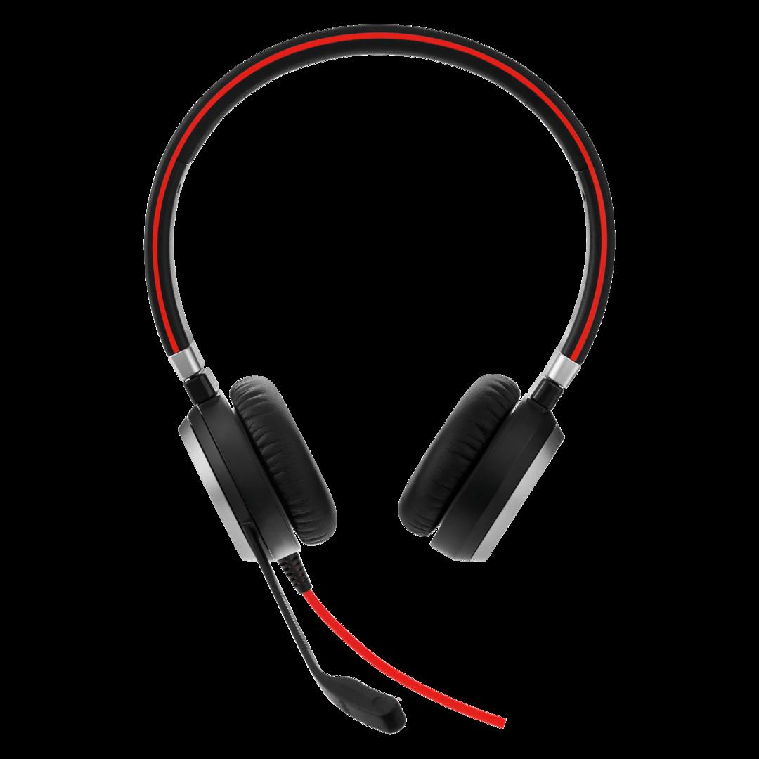 Kuuloke Jabra Evolve Engage 40 stereo USB-C liitin - helppo yhdistää tietokoneeseen ja älypuhelimeen