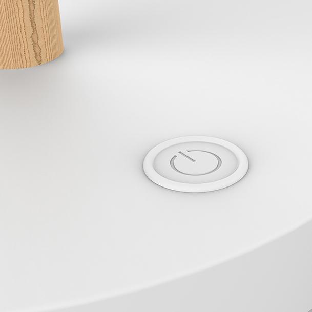 Työpistevalaisin Unilux Vicky LED pyökki/valkoinen - skandinaavista kauneutta valotehon säädöllä