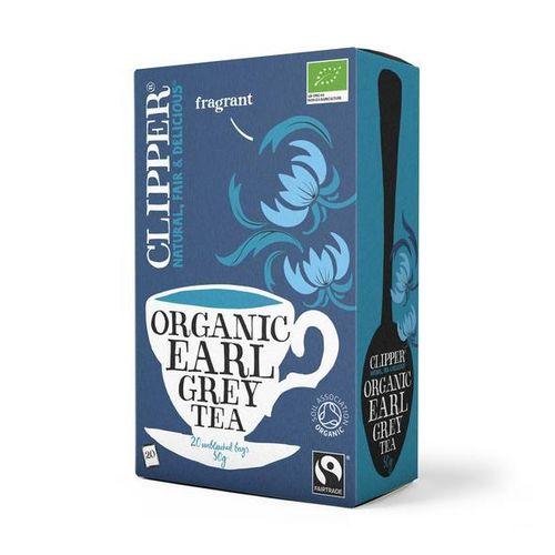 Tee Clipper luomu Reilu kauppa Earl Grey 40g /20 - eettinen luomutee englannin maaseudulta