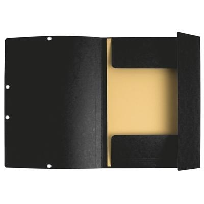 Kulmalukkosalkku A4 kartonki 400g musta